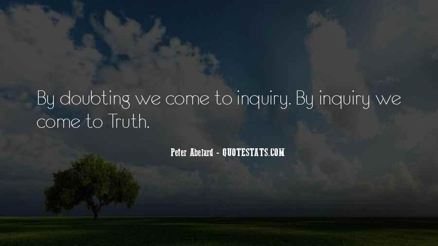 Doubting Us Quotes #204291