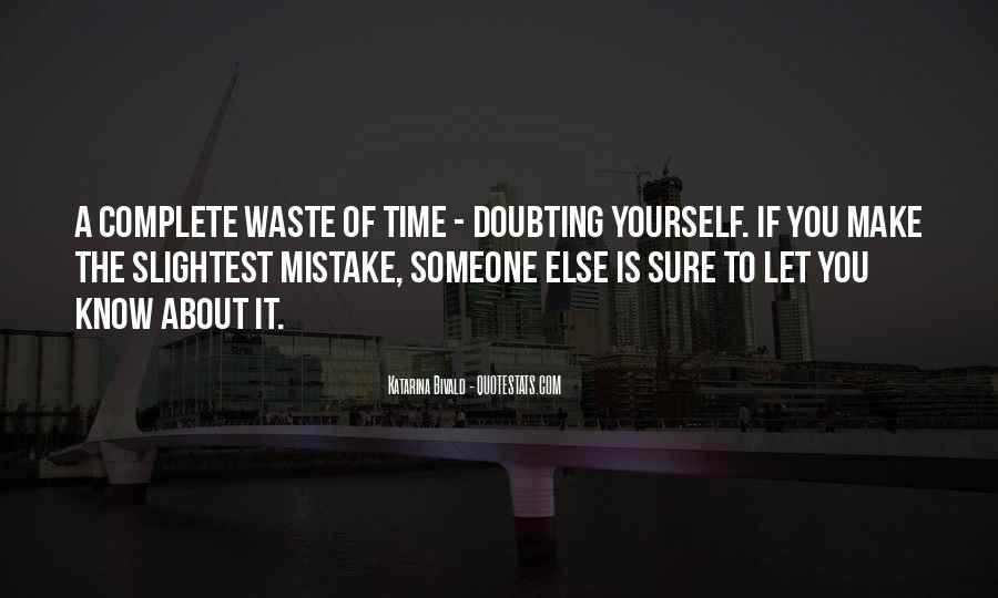 Doubting Us Quotes #244941
