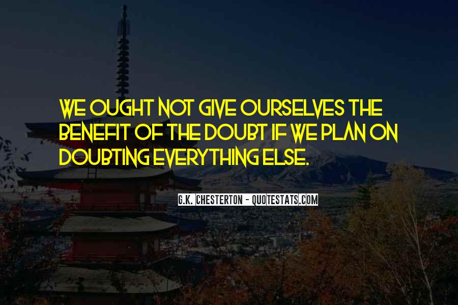 Doubting Us Quotes #251372