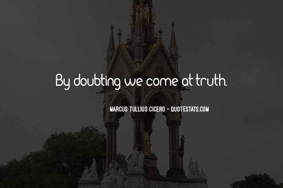 Doubting Us Quotes #265365