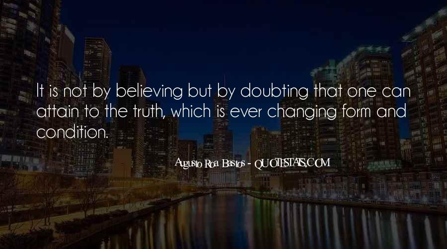 Doubting Us Quotes #30355