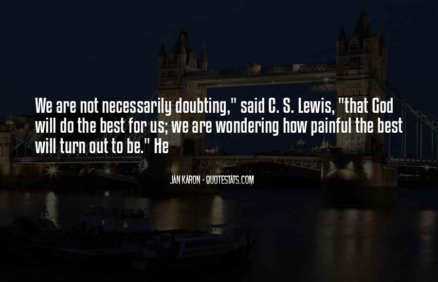 Doubting Us Quotes #914361