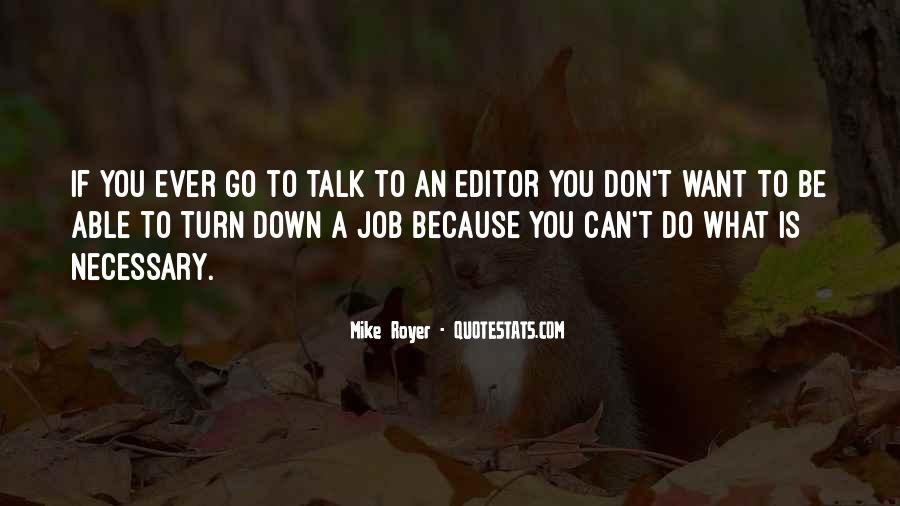 Down Talk Quotes #260070