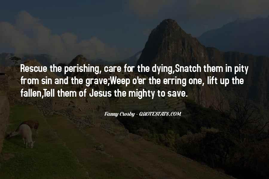 Quotes About The Mighty Fallen #1674020