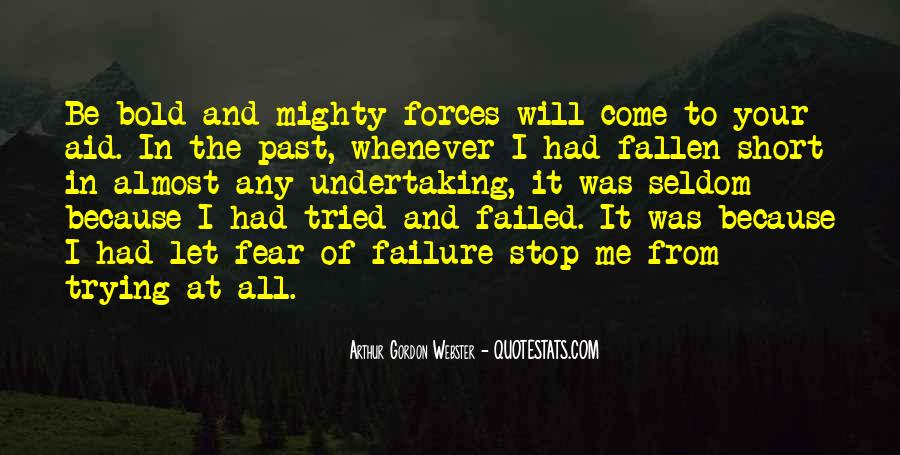 Quotes About The Mighty Fallen #1733635