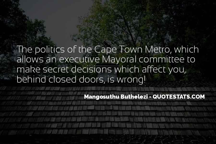 Quotes About The Metro #1062855