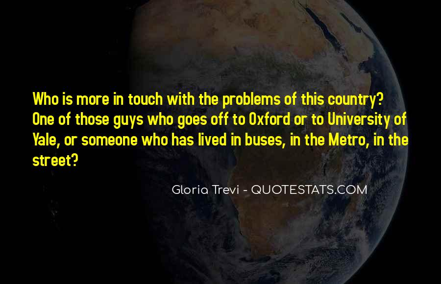 Quotes About The Metro #1232940
