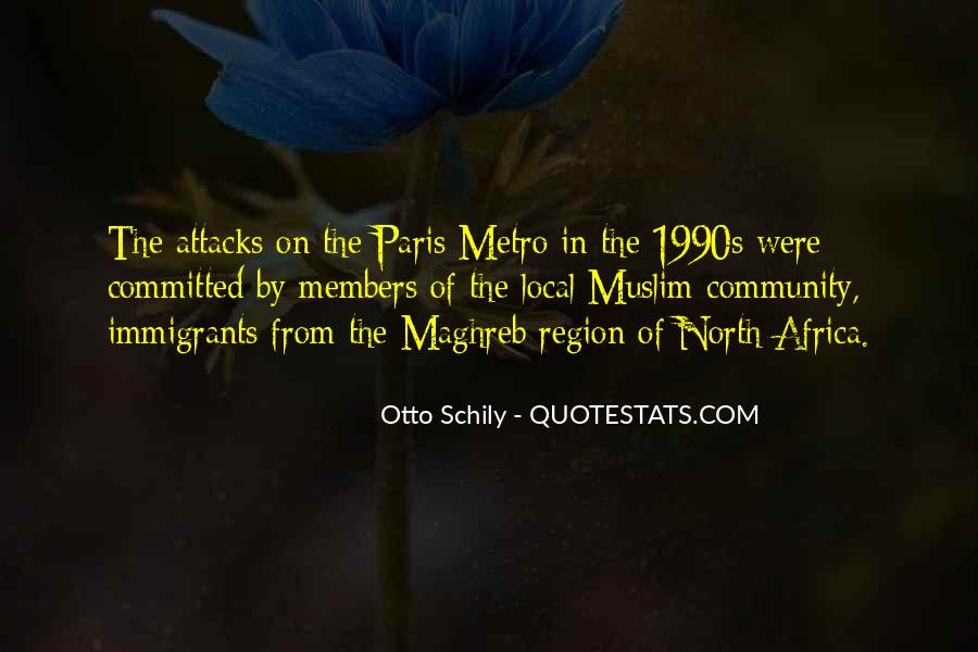 Quotes About The Metro #251074