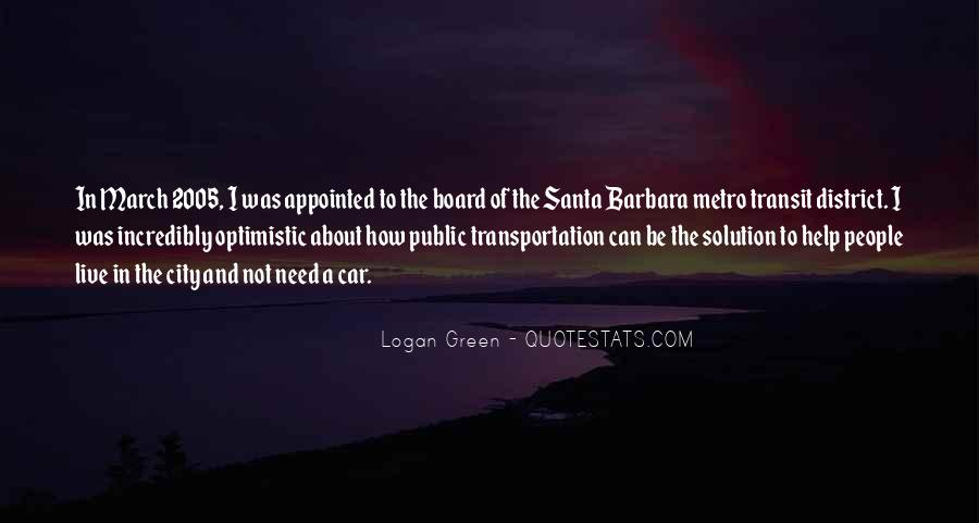 Quotes About The Metro #355789