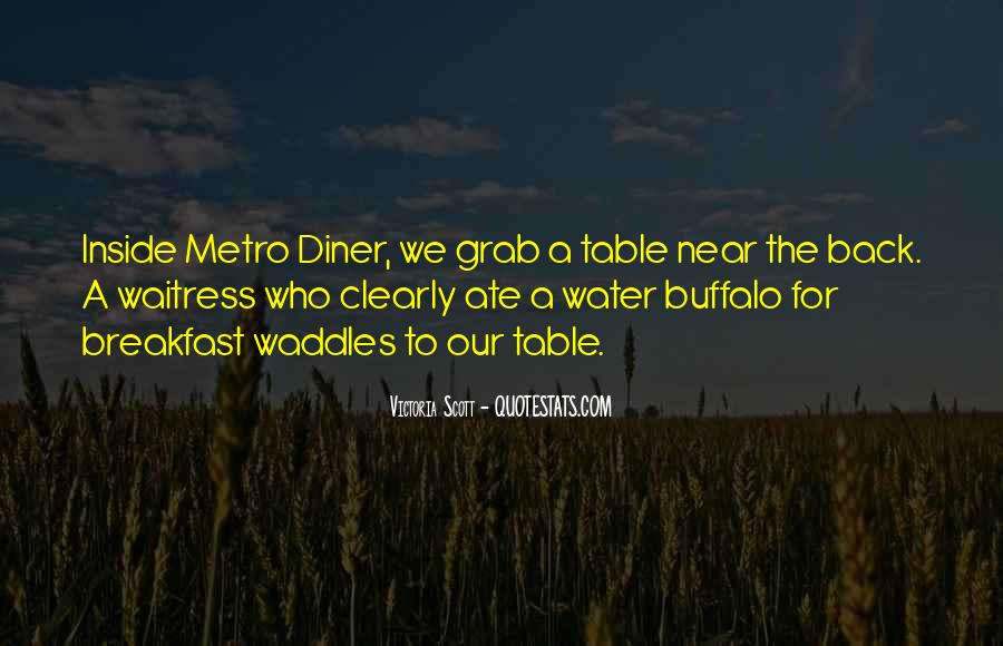 Quotes About The Metro #643674