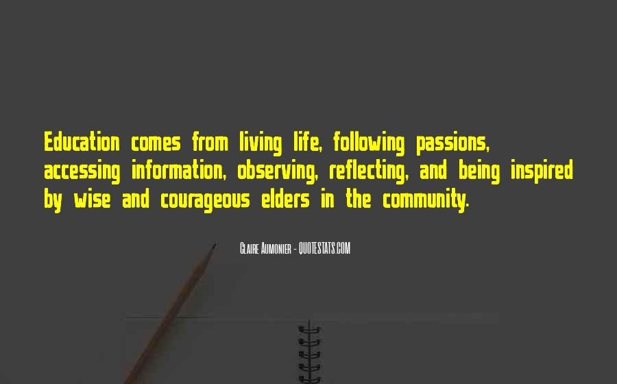 Quotes About Inspirational Elders #486427