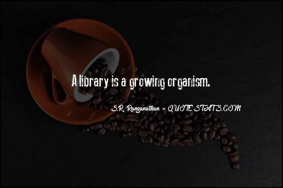 Dr Sr Ranganathan Quotes #1644982