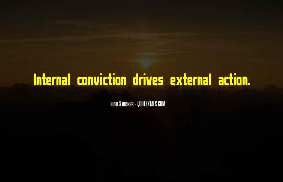 Quotes About Inspirational Conviction #1697163