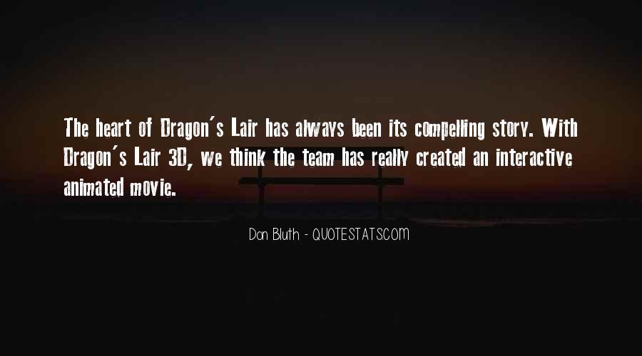 Dragon's Lair Quotes #595276