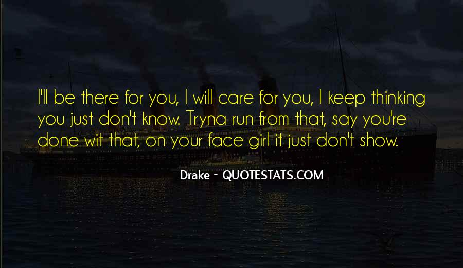 Drake Best Girl Quotes #1405630