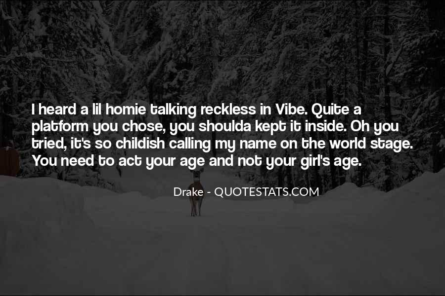 Drake Best Girl Quotes #393217
