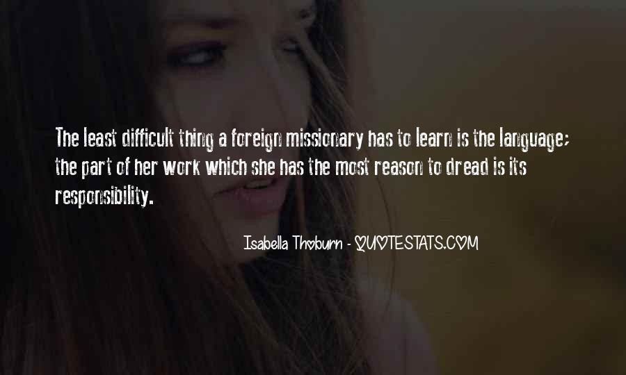 Dread Work Quotes #1616027