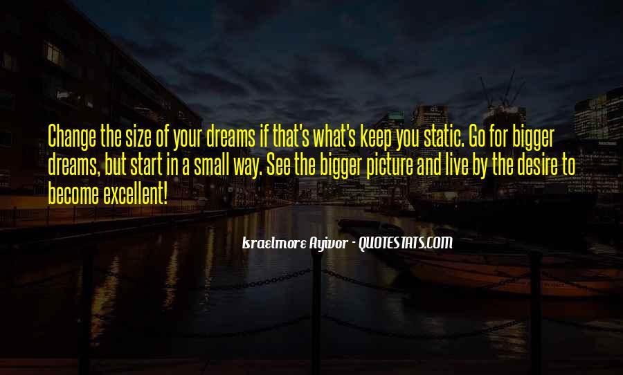 Dream Big Live Bigger Quotes #800185
