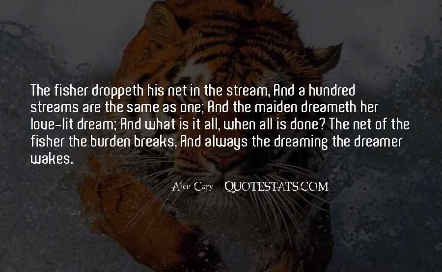 Dream Breaks Quotes #181425