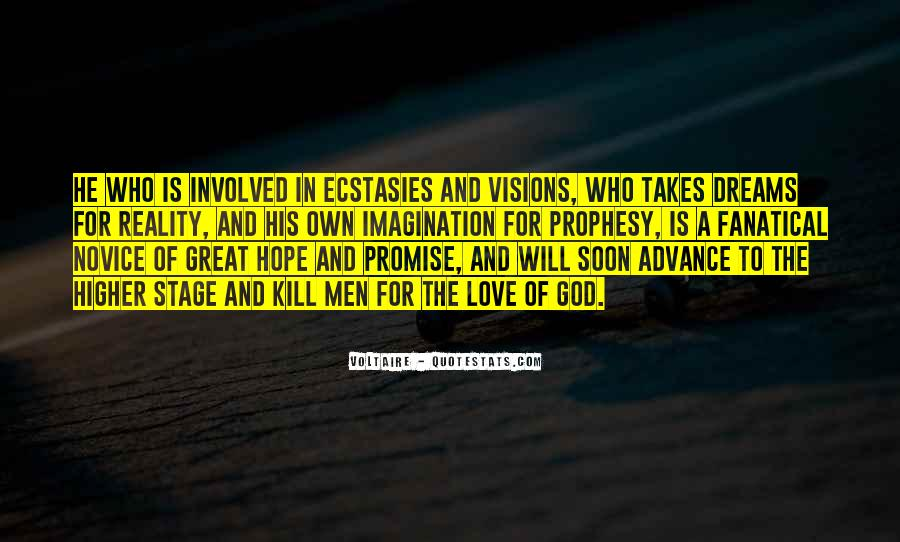 Dream Hope And Love Quotes #1858334