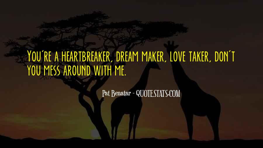 Dream With Love Quotes #340590