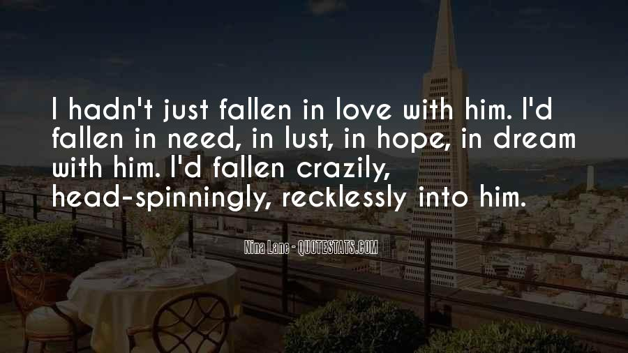 Dream With Love Quotes #465025