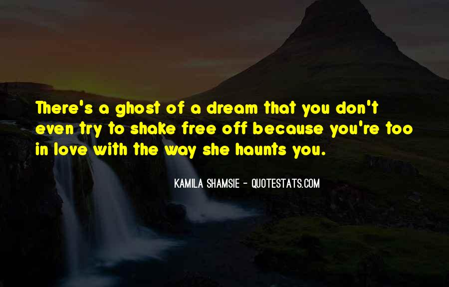 Dream With Love Quotes #598970
