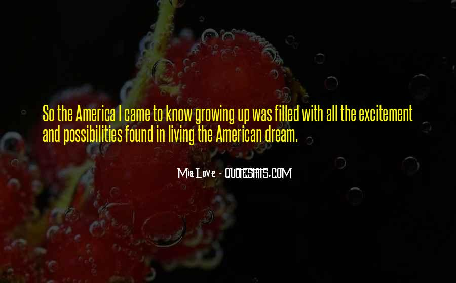 Dream With Love Quotes #625314