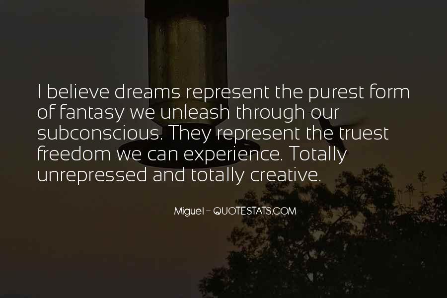 Dreams And Fantasy Quotes #158716
