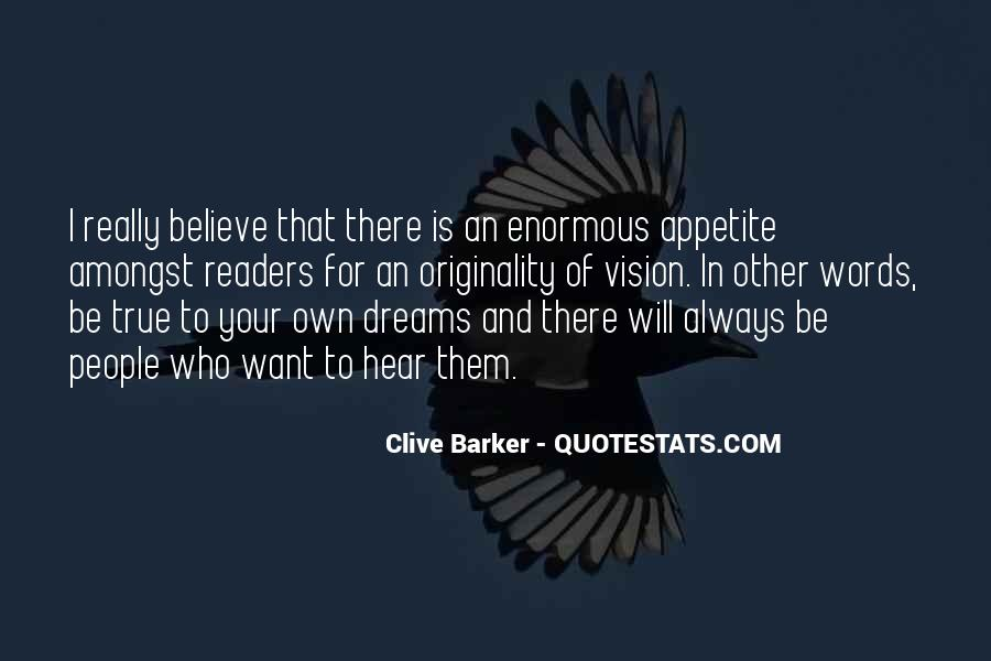 Dreams And Vision Quotes #1428455