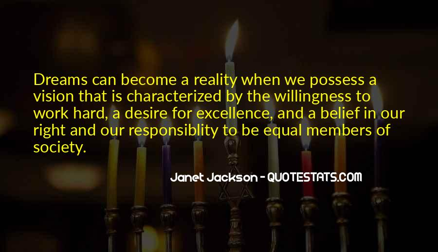 Dreams And Vision Quotes #1500614