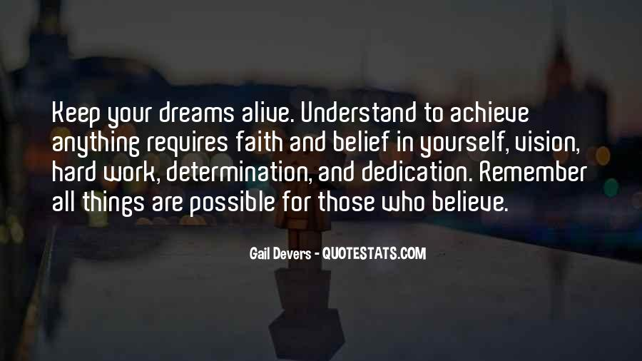 Dreams And Vision Quotes #1808649