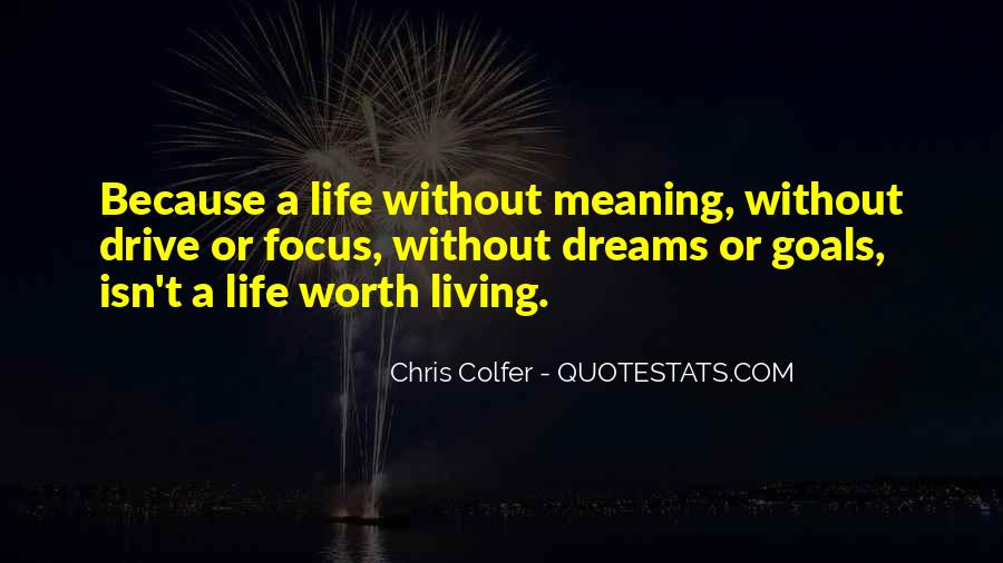 Dreams Without Goals Quotes #1378181