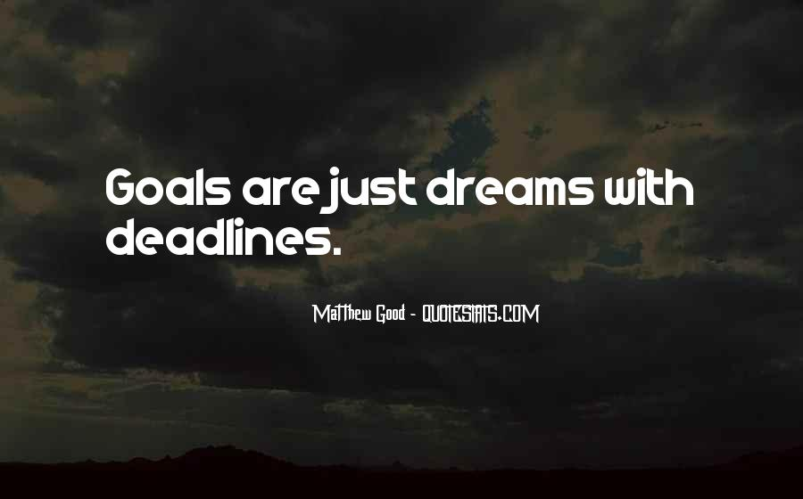 Dreams Without Goals Quotes #143740