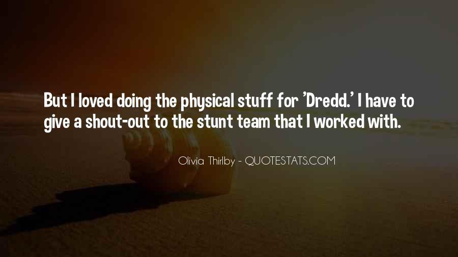 Dredd's Quotes #749354