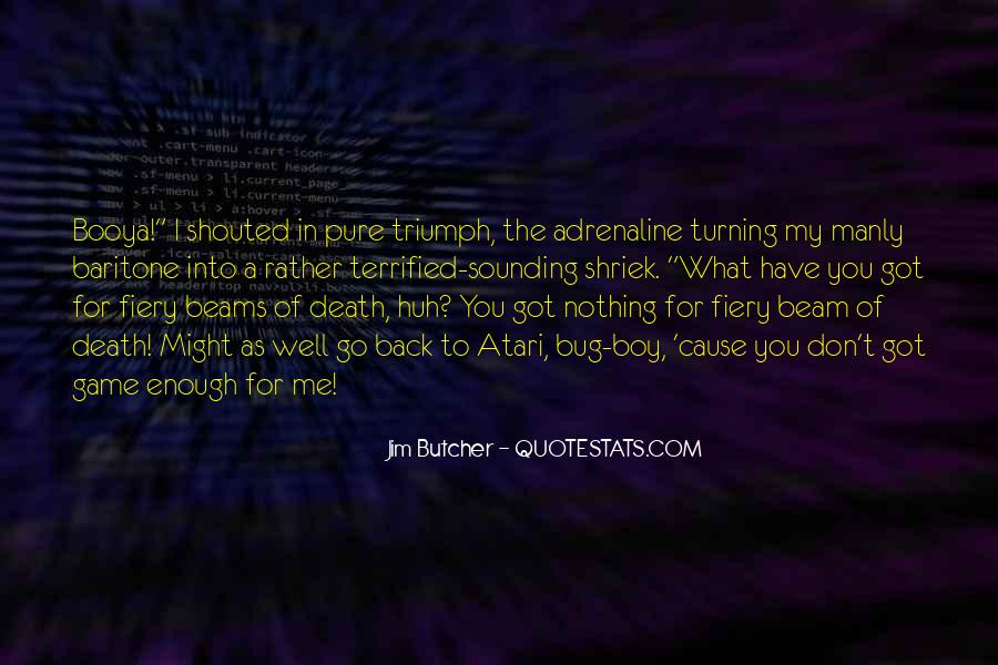 Dresden Files Quotes #942647