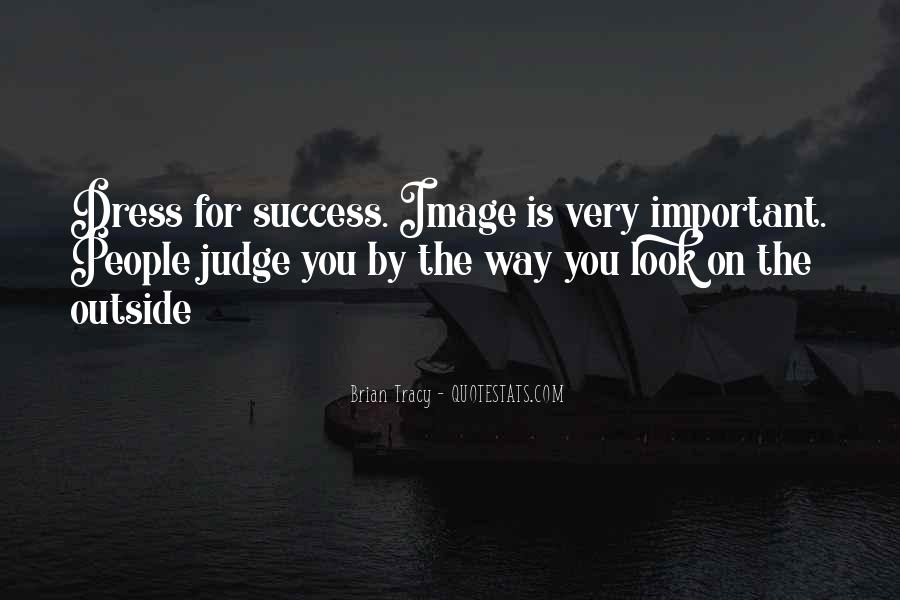 Dress For Success Quotes #1038508