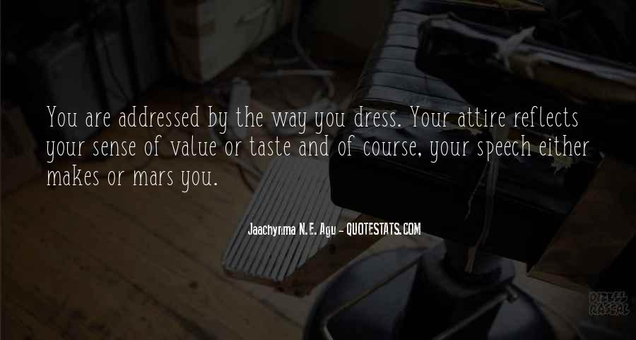 Dress For Success Quotes #483354