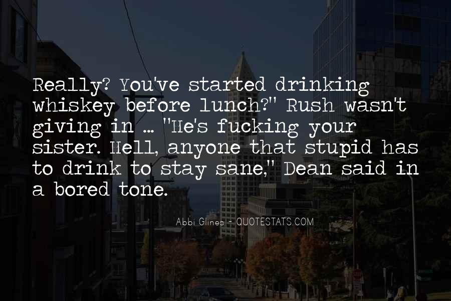 Drink To That Quotes #149436