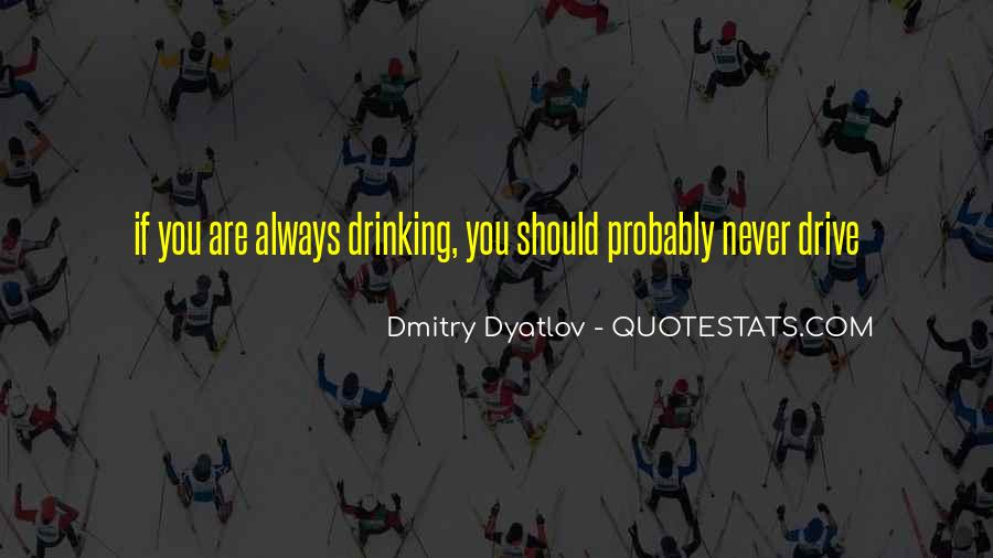 Drinking Recovery Quotes #1209445