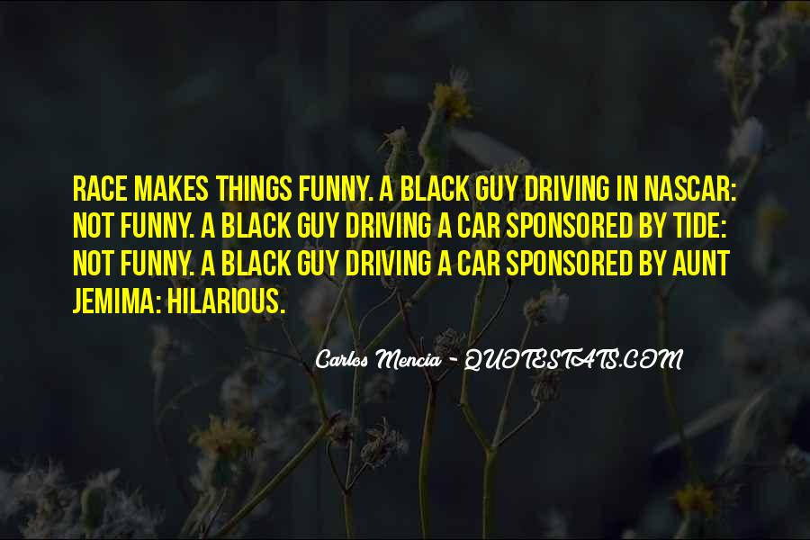 Driving A Car Funny Quotes #1012427