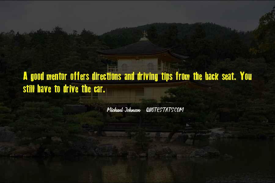 Driving Directions Quotes #717003