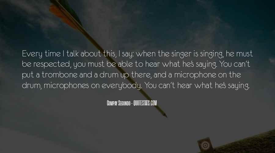 Drum Quotes #21165