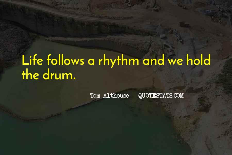 Drum Quotes #258280