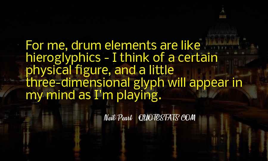 Drum Quotes #263336