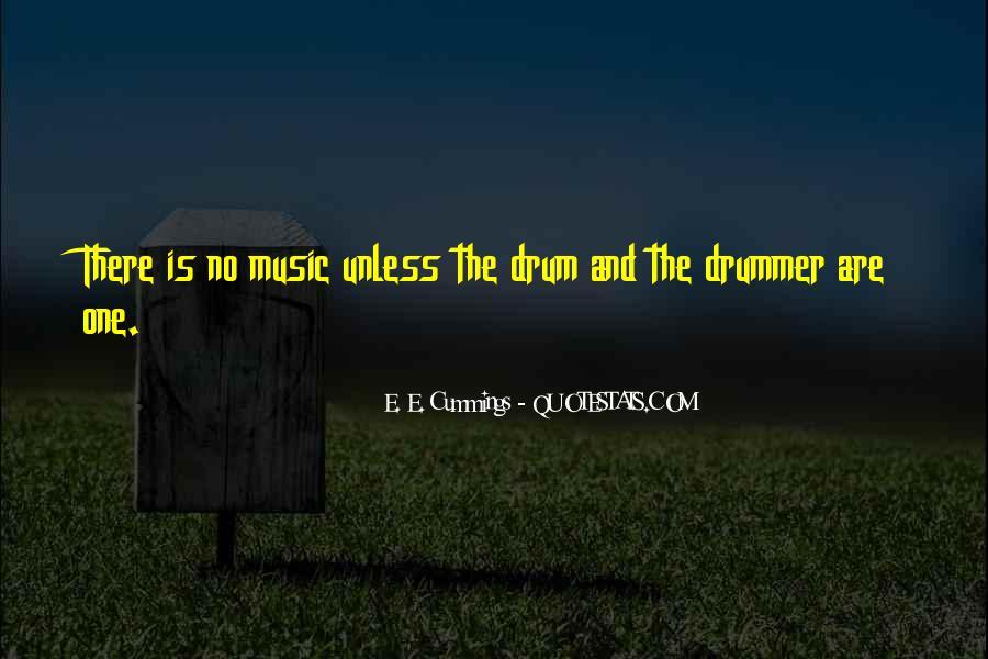 Drum Quotes #279932