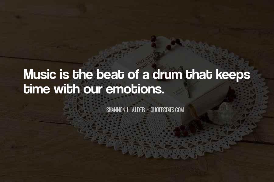 Drum Quotes #283521