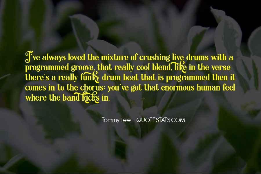 Drum Quotes #364878