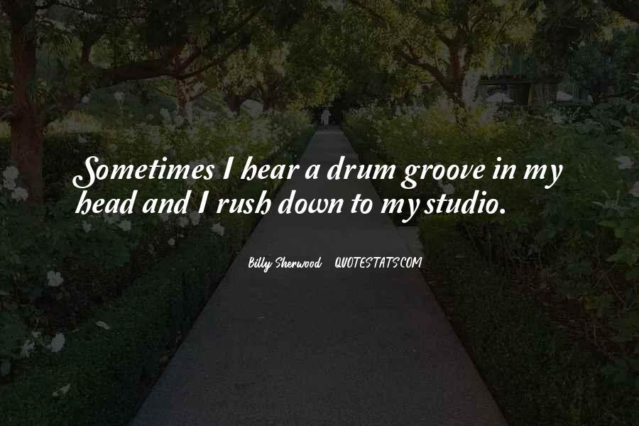 Drum Quotes #379709