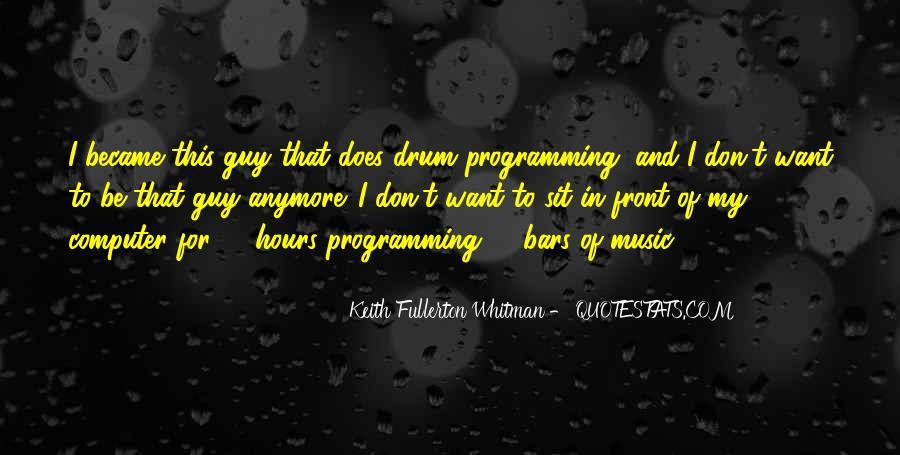 Drum Quotes #4968